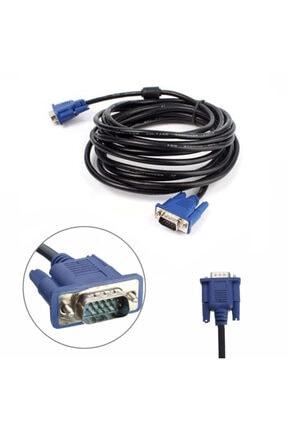 WOZLO 15m Metre Orjinal Vga Kablo Monitör Projeksiyon Ekran Kablosu 2