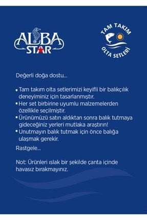AlbaStar Tam Takım Hobi Kıyı Olta Seti - 300cm Kamışla - Tts004 Standart 300cm 3