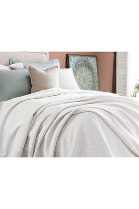 Madame Coco Elita King Size Yatak Örtüsü - Beyaz 1