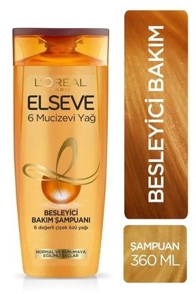 Elseve 5'li 6 Mucizevi Yağ Bakım Şampuanı 360 ml Seti  36005231657975 1