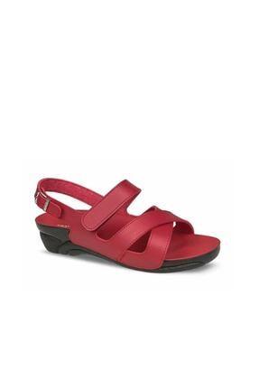 Ceyo Kadın Kırmızı Sandalet ( Venedik-8) 0