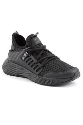 L.A Polo Erkek Siyah Yazlık Spor Ayakkabı 1