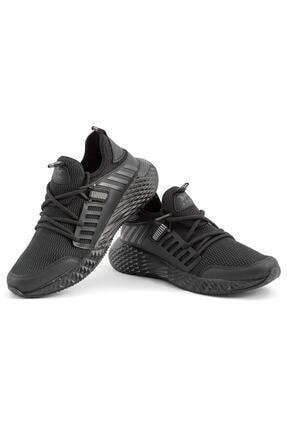 L.A Polo Erkek Siyah Yazlık Spor Ayakkabı 4