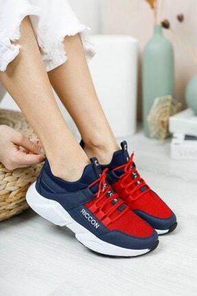 Riccon Unisex Lacivert Bağçıklı Sneaker 0012072 0