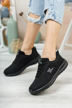 Riccon Unisex Siyah Siyah Sneaker 0012065 3