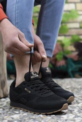 Riccon Siyah Siyah Unisex Sneaker 0012853 3