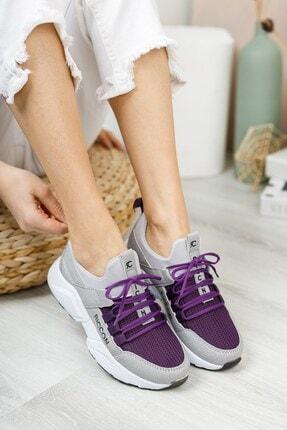 Riccon Kadın Buz Mor Sneaker 0012072 1