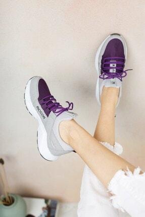 Riccon Kadın Buz Mor Sneaker 0012072 4