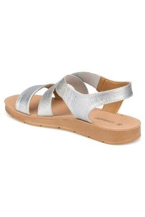 Polaris 91.150787PZ Gümüş Kadın Sandalet 100374740 3