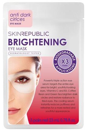 Skin Republic Brightening Eye Mask 3 Pairs 23ml 0
