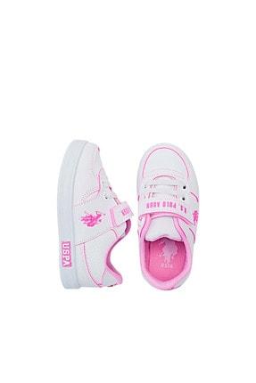 US Polo Assn CAMERON 1FX Beyaz Kız Çocuk Sneaker 100909733 3