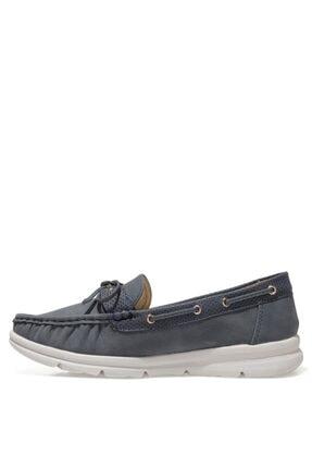 Nine West MARIO 1FX Lacivert Kadın Loafer Ayakkabı 101008454 3
