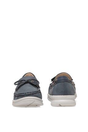 Nine West MARIO 1FX Lacivert Kadın Loafer Ayakkabı 101008454 4