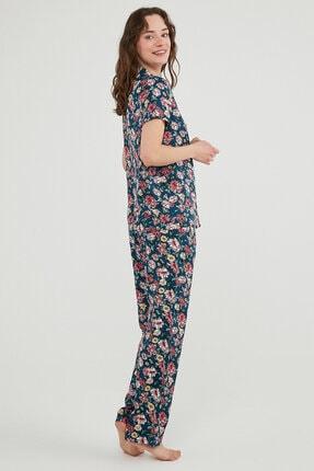 Penti Night Flowers Ss Pijama Takımı 1