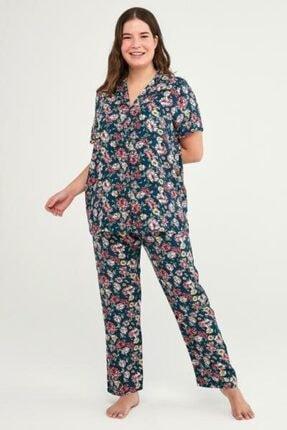 Penti Night Flowers Ss Pijama Takımı 3