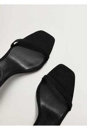 Mango Bilekten Bağlamalı Sandalet 2
