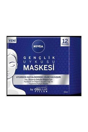 Nivea Hyaluron Cellular Filler Gençlik Uykusu Yüz Maskesi 50 ml 0