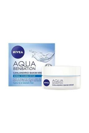 Nivea Aqua Sensatıon Canlandırıcı Bakım Kremi 50 ml 0
