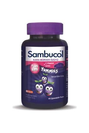IHealth Sambucol Plus Kids Yummies Kara Mürver Özütü 0