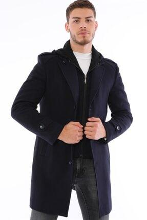 Erkek  Lacivert Palto resmi