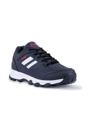 Jump 24904 Lacivert Bağcıklı Erkek Sneaker Ayakkabı 0