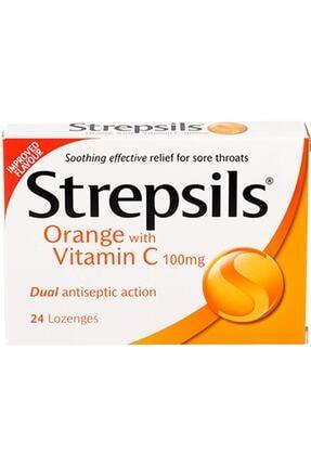 Strepsils C Vitaminli Portakal Aromalı 24 Adet Skt:01/2022 0