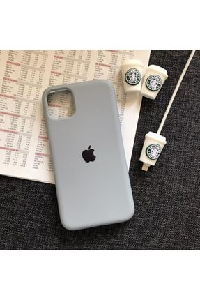 SUPPO Iphone 11 Model Logolu Lansman Kılıf Kablo Koruyucu 0
