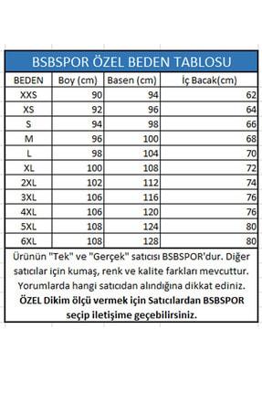 BSBSPOR Unisex Elastik Bel Joggers Baskılı Pantolon Eşofman Altı 2
