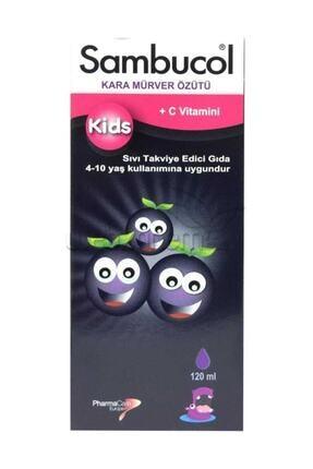 Sambucol Kids Kara Mürver Ekstresi Vitamin C Şurup 120 ml 0