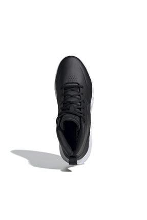 adidas OWNTHEGAME Siyah Erkek Basketbol Ayakkabısı 101069037 4