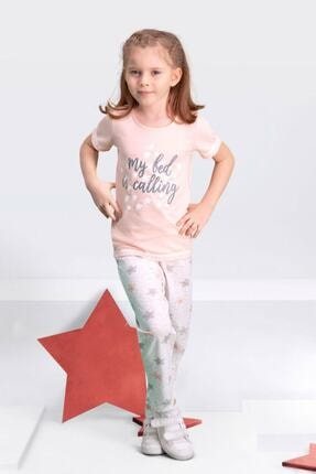 تصویر از 109-1 Kısa Kollu Kız Çocuk Pijama Takımı