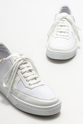 Elle Kadın Beyaz Spor Ayakkabı 2