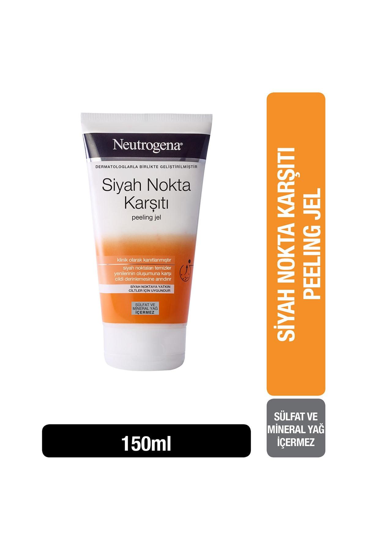 Neutrogena Visibly Clear Siyah Nokta Temizleyici Peeling Jel 150 ml