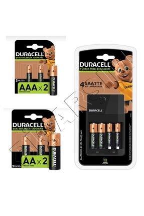Duracell Cef 14 Pilli Şarj Cihazı Ve Şarj Edilebilir 4 Adet 750 Mah Aaa Ve 4 Adet 1300 Mah Aa Paketi 0