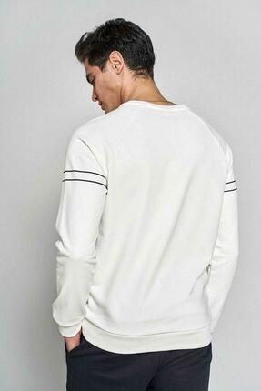 HUMMEL Erkek Beyaz Sweatshirt 921036-9973 1