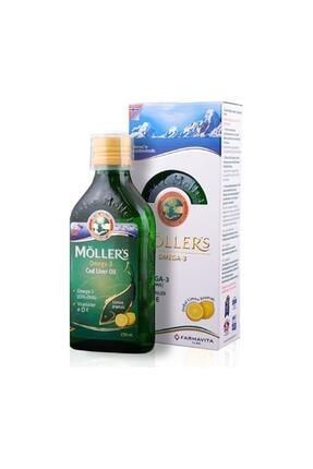 Mollers Omega 3 Balık Yağı 250 Ml Limon Aromalı 0