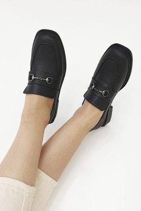 Marjin Kadın Loafer Ayakkabı Racessiyah 1