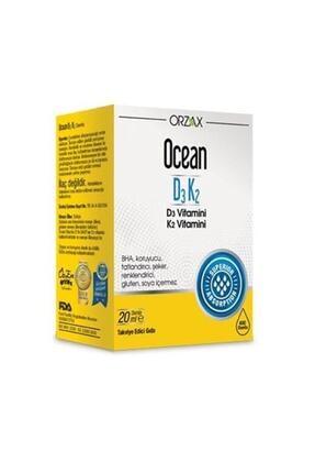 Ocean Vitamin D3 K2 Oral Drops 20ml 0