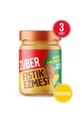 Züber Original Fıstık Ezmesi 315 gr X 3 Adet 0