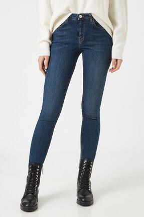 Koton Dark İndigo Kadın Jeans 1KAK47674MD 2