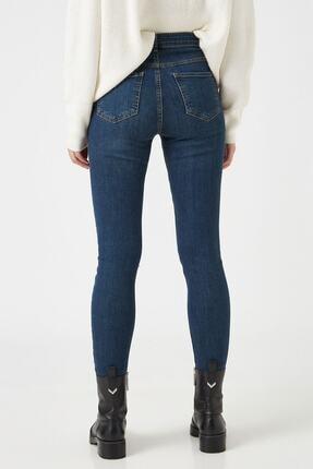 Koton Dark İndigo Kadın Jeans 1KAK47674MD 3