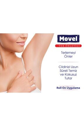 movel 2 Adet Roll On Antiperspirant Ter Önleyici Ve Ter Kokusu Yok Edici 50 Ml 1