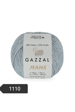 Gazzal Jeans Amigurumi Ipi 50 Gr El Örgü Ipi Pamuk + Akrilik 1110 Örgü Ipi 0