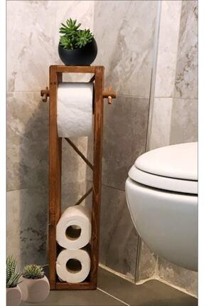Fec Reklam Wc Kağıtlık Tuvalet Kağıtlığı Ahşap Banyo 0