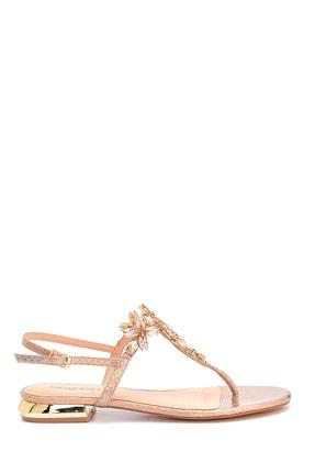 Derimod Kadın Taş Detaylı Sandalet 0
