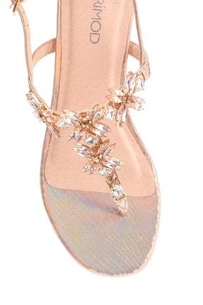 Derimod Kadın Taş Detaylı Sandalet 4