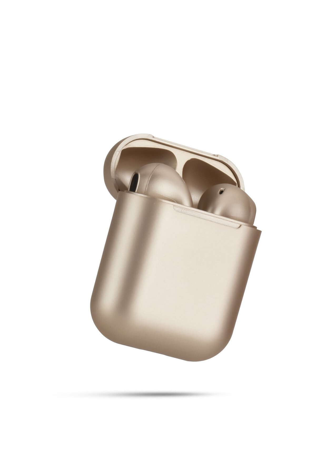 Airpods 2. Nesil i12 Gold Bluetooth Kulaklık Muhteşem Ses Performansı