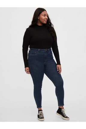 GAP High Rise Universal Legging Jean Pantolon 4