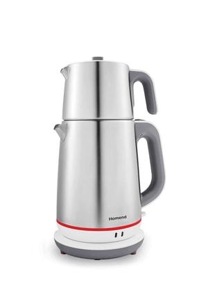 HOMEND Royaltea 1710h Inox Çay Makinesi Beyaz 0