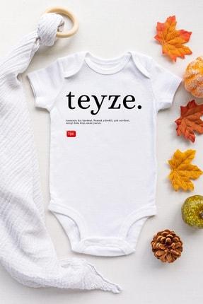 Happy Onesie Co Unisex Bebek Beyaz Teyze Tdk Çıtçıtlı Body 0